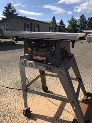 Craftsman table saw for Sale in Portland, OR