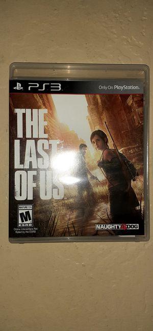 PS3 The Last of Us for Sale in Buckeye, AZ