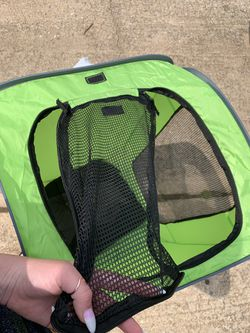 Small dog carrier/crate (folds) for Sale in Village,  OK