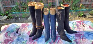3 pair of Womens Boots for Sale in Detroit, MI