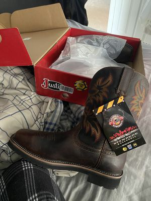 Justin Stampede Square Toe Boots for Sale in Rising Sun, MD