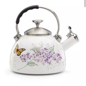 Lennox Butterfly Tea Kettle And Table Setting for Sale in Phoenix, AZ