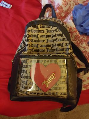 Juicy Couture backpack with matching makeup bag for Sale in Renton, WA