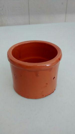 Orange small ceramic cup vintage for Sale in Perris, CA