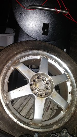 3 Konig wheels 17in 235/45/17 only 3 need 1wheel and one tire. for Sale in Tacoma, WA