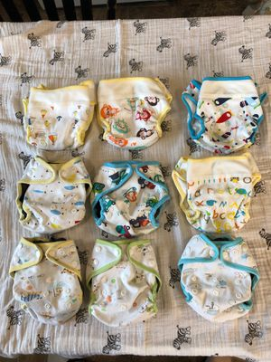 9 KaWaii Baby cloth diaper covers for Sale in Fullerton, CA