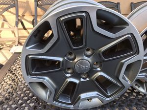 "Jeep wrangle 17""OEM Wheels Rim 2020 for Sale in Bridgeport, CT"