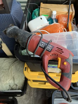 Recriprocating saw sawzall with extra blades for Sale in Miami Shores, FL