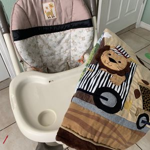 High Chair And Crib Confy Baby Cover for Sale in Tampa, FL
