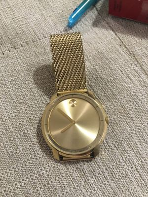 Movado gold watch for Sale in Fort McDowell, AZ