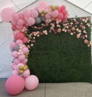 Flower wall back drop for Sale in Los Angeles, CA