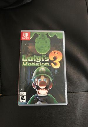 Luigi's mansion 3 for Sale in Mesa, AZ