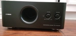 Yamaha subwoofer and Onkyo receiver for Sale in Carrollton, TX