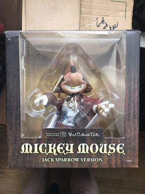 Mickey Mouse as Jack Sparrow Vinyl Collectible Doll VCD for Sale in Kissimmee, FL