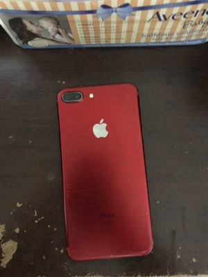 Red Iphone 7plus for Sale in Bristol, CT