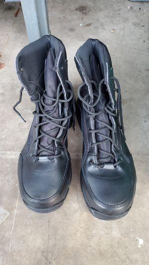 Interceptor size 12 Mens Steel toe Boots for Sale in Bensalem, PA