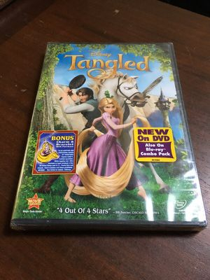 Tangled DVD unopened for Sale in North Arlington, NJ