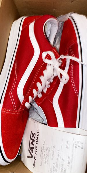 Red vans for Sale in Tucson, AZ
