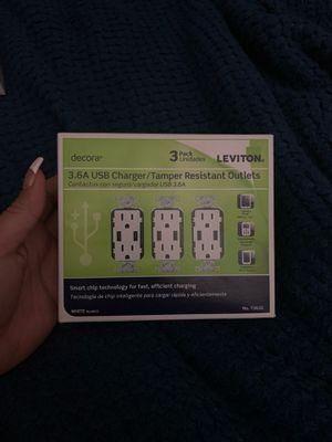 3.6A USB charger/tamper Resistant Outlets for Sale in Orange, CA