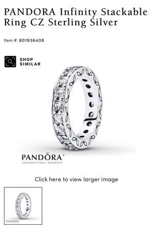 Pandora ring for Sale in Orland Park, IL