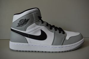 Nike Air Jordan 1 Mid 'Smoke Grey' 554724 092 for Sale in Hyattsville, MD