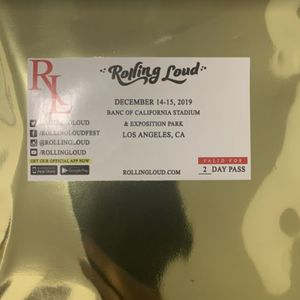 ROLLING LOUD 2 DAY ( 1 WRISTBAND) for Sale in South Gate, CA