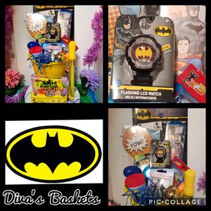 Batman Easter Basket with LCD Watch for Sale in Laredo, TX