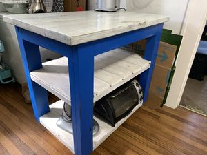 Portable rolling kitchen island for Sale in Tampa, FL