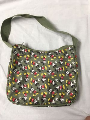 MICKEY MOUSE DISNEY PURSE, 9x11 inches, pocket and other storage inside purse for Sale in Carlsbad, CA