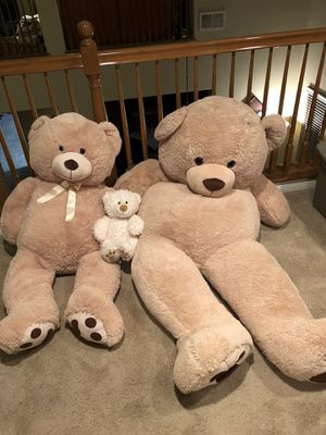 Huge bear, large, bear & small teddy bear for Sale in Murrieta, CA