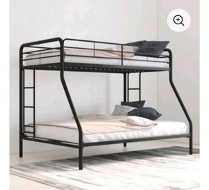 Bunk bed twin over full no mattress included for Sale in Dallas, TX