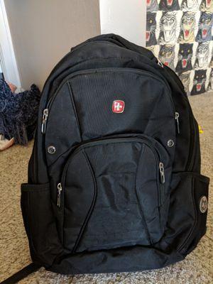black Swiss gear laptop backpack for Sale in San Jose, CA