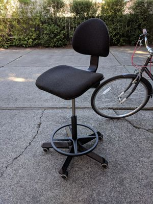 Drafting chair - sturdy, perfect for standing desks for Sale in Palo Alto, CA