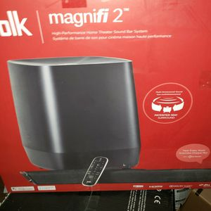 2021 POLK MAGNIFI2 SOUND BAR WIRELESS SUB 3D for Sale in Anderson, SC