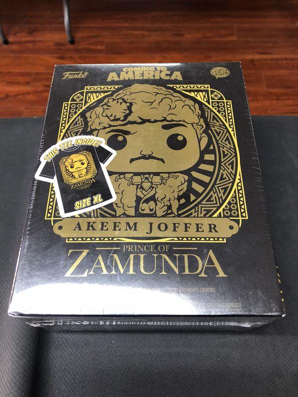 Akeem Joffer Prince Of Zamunda Coming to America Funko Pop Size XL