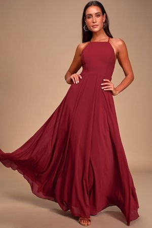 Never worn burgundy gown for Sale in Seattle, WA