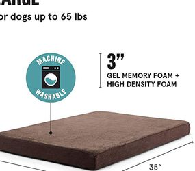 """Espresso Barkbox Dog Bed 