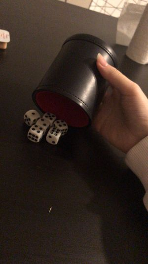 Dice set with cups for Sale in Arlington, VA