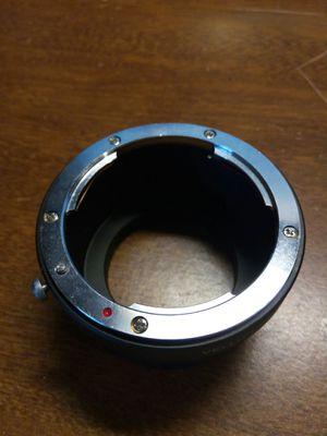 Nikon lens to micro four thirds adapter for Sale in Spokane, WA