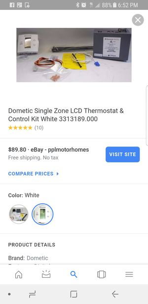 Dometic touch thermostat for Sale in San Diego, CA