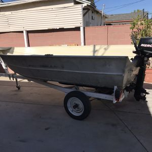 Aluminum Boat For Sale for Sale in Los Angeles, CA