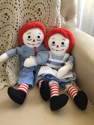 Raggedy ANN And Raggedy Andy Vintage Set for Sale in Henderson, NV