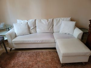 Leather sofa for Sale in Richmond, TX