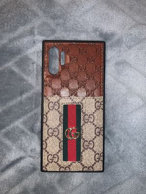 Gucci phone case for Samsung Note 10+ for Sale in Fountain Inn, SC