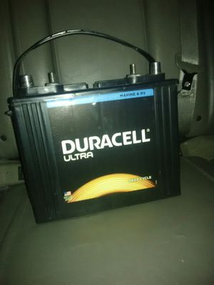 Duracell Ultra DEEP CYCLE RV/Boat/Camper Battery for Sale in Nampa, ID