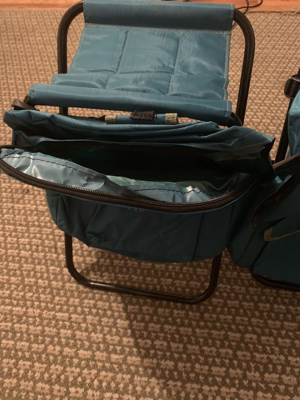 Brand new camping chairs with backpacks