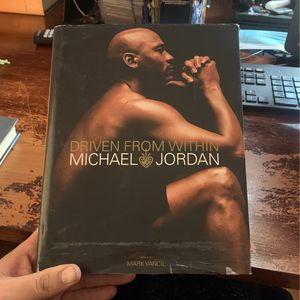 Driven From Within Micheal Jordan Book for Sale in Las Vegas, NV