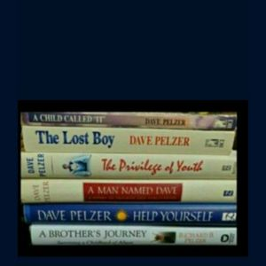 Dave Pelzer books $7 each for Sale in Colton, CA