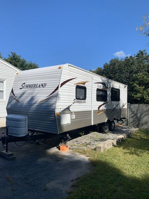 2011 summer land camper travel trailer great condition just no time for it for Sale in Lowell, MA
