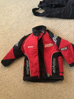 Snowmobile skidoo outfit kids for Sale in Torrington, CT